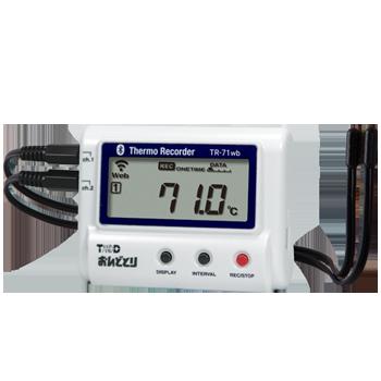 記録に便利なデータロガー、冷蔵庫の温度管理にピッタリ?