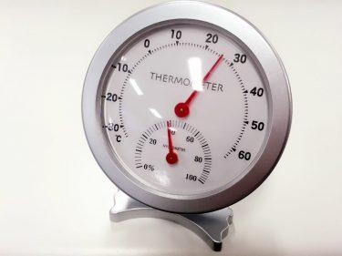 安定した湿度の標準器 アスマン式通風乾湿計